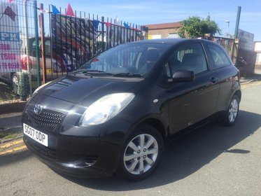 Toyota Yaris 1.3 VVT-I ZINC MMT AUTO *** LOW 43,906 WARRANTED MILES *** AUTOMATIC *** 12 MONTH AA BREAKDOWN COVER INCLUDED