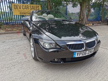 BMW 6 SERIES 3.0 630i 2dr