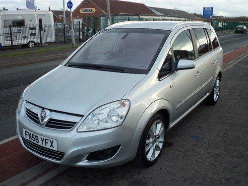 Vauxhall Zafira 1.9CDTI  ELITE DPF 150PS