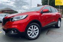 Renault Kadjar DYNAMIQUE NAV DCI used car in Flame Red Metallic