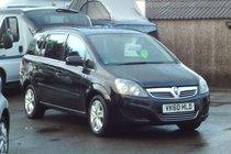 Vauxhall Zafira EXCLUSIV 1.6 2 OWNERS 7 SEATS