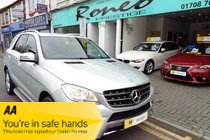 Mercedes M Class ML350 BLUETEC SPORT FULL HISTORY STUNNING