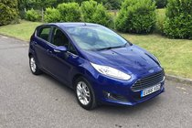 Ford Fiesta ZETEC ZERO ROAD TAX, SAT NAV, BLUETOOTH, AIR CONDITIONING, FULL SERVICE HISTORY & LOW MILEAGE