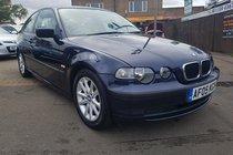 BMW 3 SERIES 1.8 316ti ES Compact 3dr 6 MONTHS MOT, DRIVES SPOT ON