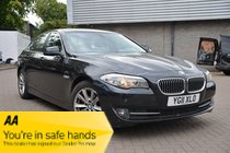 BMW 5 SERIES 520d SE 1 FORMER KEEPER FULL SERVICE HISTORY CLEAN INSIDE AND OUT LUXURY BMW 5 SERIES AT ITS BEST