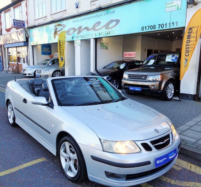 2004 Saab: Saab 9-3 1.8T VECTOR, PETROL, CONVERTIBLE, NEW MOT