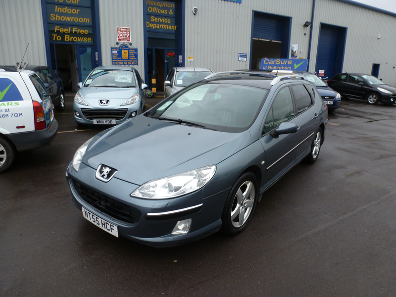 Peugeot 407 Executive HDi 136   CarSure of Rotherham