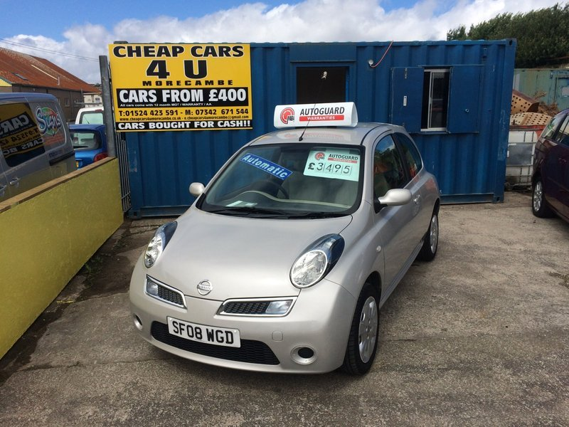 Nissan micra 1 2 acenta automatic sold sold sold gc car - Nissan uk head office telephone number ...