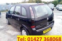 Vauxhall Meriva LIFE 16V TWINPORT - NEW MOT - WARRANTY INCLUDED - FINANCE ARRANGED