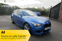 BMW 1 SERIES 116d M SPORT SERVICE HISTORY ! £30 ROAD TAX ! MEDIA/BT/PHONE ! RESERVE & COLLECT !
