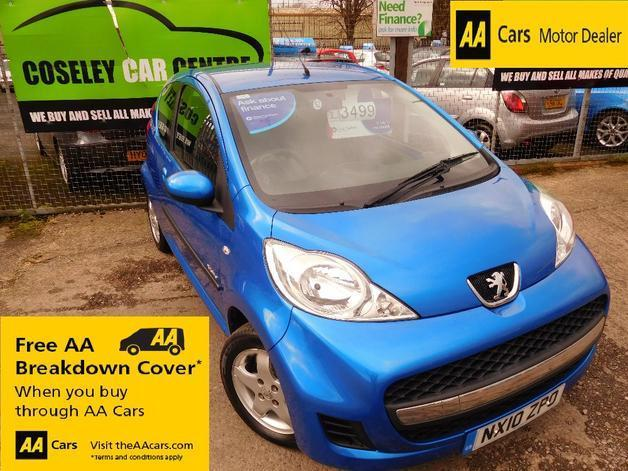 Peugeot 107 Verve 1.0 SPECIAL EDITION **ONLY £20 A YEAR ROAD TAX ...