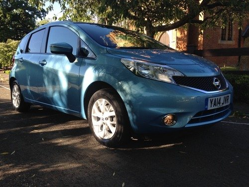 Nissan Note 1.2 ACENTA 1 OWNER, BLUETOOTH, START STOP, 20 POUNDS A YEAR TO TAX