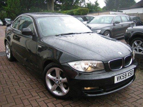 BMW 1 SERIES 125i SE 3.0, SATNAV, FULL BLACK LEATHER, FULL HISTORY