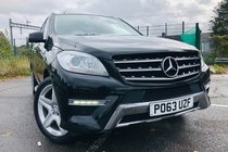Mercedes M Class ML250 BLUETEC AMG SPORT