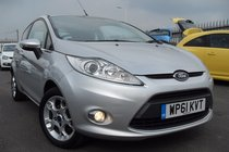 Ford Fiesta 1.25 ZETEC, USB/AUX PORTS, FRONT HEATED SCREEN