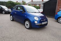 Fiat 500 LOUNGE FULL SERVICE HISTORY ! £30 YEAR TAX ! GREAT SPEC ! 99% FINANCE APPROVAL !