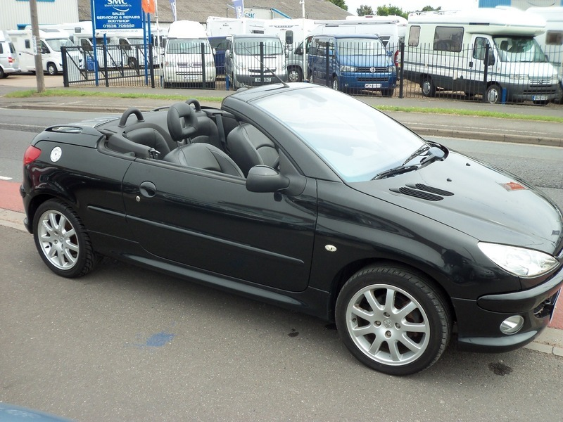 peugeot 206 1 6 allure coupe cabriolet mick dwane. Black Bedroom Furniture Sets. Home Design Ideas
