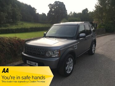 Land Rover Discovery TDV6 COMMERCIAL