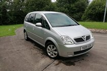 Vauxhall Meriva BREEZE 16V - FAMILY MPV - MOT JULY 2020 - WARRANTY INCLUDED