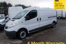 Vauxhall Vivaro 2.7T 2.0 CDTi 115 LWB