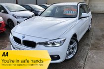 BMW 3 SERIES 320d Ed PLUS TOURING 2.0 TDI NICE SPEC £20 TAX ONLY 55,000 MILES FSH SPARE KEYS NEW MOT PX WELCOME GOOD MPG