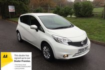 Nissan Note ACENTA FULL SERVICE HISTORY BLUETOOTH AND AIR CONDITIONING