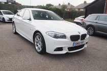 BMW 5 SERIES 525d M SPORT SERVICE HISTORY ! GREAT SPEC ! 99% FINANCE APPROVAL !