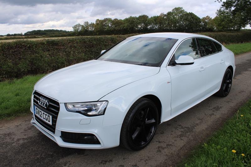 Audi A5 Sportback Tdi S Line Mark Andrew Vehicle Sales