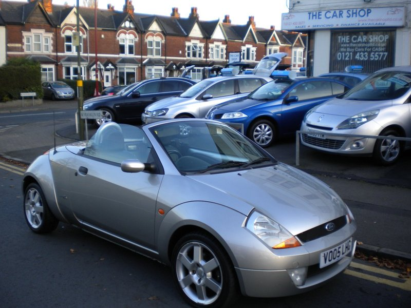 Ford Streetka 1 6 Luxury The Car Shop