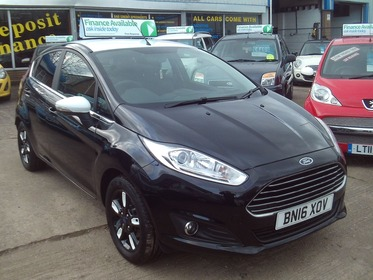 Ford Fiesta 1.25 ZETEC BLACK EDITION 82PS