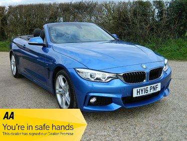 BMW 4 SERIES 420i M SPORT