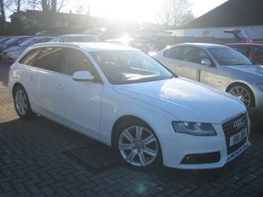 Audi A4 Avant 2.0 TDIE SE AVANT 136PS TECHNIK, SAT NAV, LEATHER, PARKING SENSORS, FSH