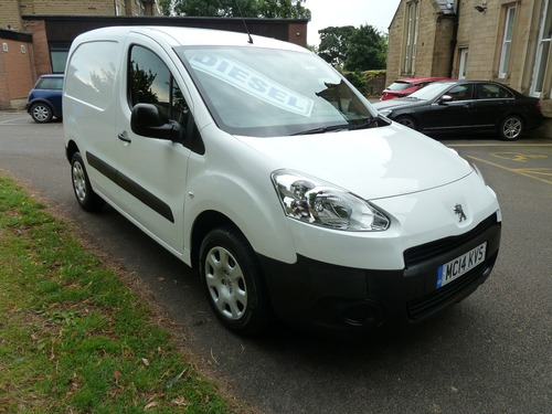 Peugeot Partner 1.6 HDI 92 Professional 3 Seater Bluetooth, Air Con