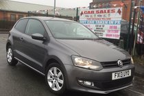 Volkswagen Polo 1.4 85 MATCH 3DR 2013 ** WARRANTED 77,932 MILES ** 12 MONTH MOT INCLUDED ** AUX/MEDIA/USB