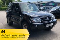 Mitsubishi Shogun SWB DI-D WARRIOR 3 DOOR DIESEL AUTOMATIC 4X4