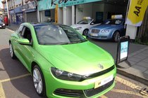 Volkswagen Scirocco TSI 1.4 PETROL, PANORAMIC SUNROOF, JUST SERVICED, STUNNING !