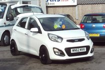 Kia Picanto 2 ECODYNAMICS 1.2 32,000 MILES SERVICE HISTORY LOW INSURANCE £ZERO ROAD TAX