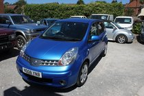 Nissan Note Nissan Note 1.6 16v Tekna 5dr FULL NISSAN SERVICE HISTORY - Looks & Drives Perfect - Leather - Gorgeous Looking Car - Hurry