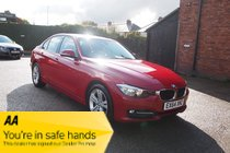 BMW 3 SERIES 316d SPORT FSH ! NAV/MEDIA/AUX ! £30 ROAD TAX ! £47 PW & NO DEPOSIT !