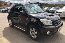 Toyota RAV4 D-4D XT-R 3 DOOR DIESEL MANUAL 4X4