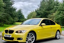 BMW 3 SERIES 330i 3.0 M SPORT AUTOMATIC 2dr | INDIVIDUAL PHEONIX YELLOW