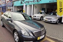 Mercedes E Class E220 CDI BLUEEFFICIENCY AVANTGARDE JUST SERVICED!