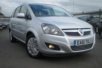 Vauxhall Zafira EXCITE 1.2i 16v, 1PRIVATE OWNER