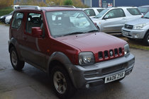 Suzuki Jimny JLX PLUS 3 DOOR MANUAL