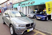 BMW X3 XDRIVE20d SE AUTOMATIC, ULEZ FREE, 2 FORMER KEEPERS, FSH