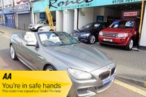 BMW 6 SERIES 640d M SPORT CONVERTIBLE AUTO, ONE OWNER FULL BMW SERVICE HISTORY