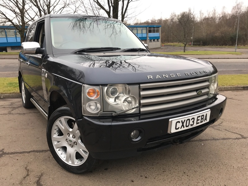 land rover range rover 4 4 v8 vogue tvs glasgow ltd. Black Bedroom Furniture Sets. Home Design Ideas