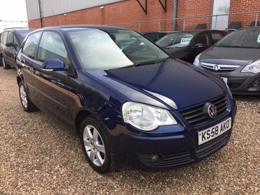 Volkswagen Polo 1.4 MATCH 80PS**4 FORMER KEEPER*1 KEY*MOT DUE 03/10/2017*FREE 6 MONTHS WARRANTY*FREE 12 MONTHS AA BREAKDOWN COVER*FINANCE AVAILA