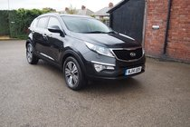 Kia Sportage CRDI KX-3 FULL SERVICE HISTORY ! 1 OWNER ! PAN-ROOF ! MEDIA ! BLUETOOTH ! FULL HTD LEATHER !