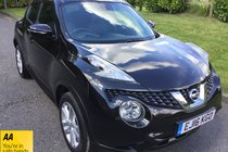 Nissan Juke N-CONNECTA DIG-T ONE LADY OWNER SATNAV BLUETOOTH REVERSING CAMERA
